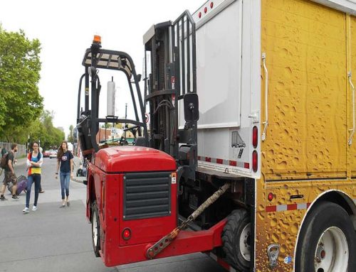 Truck Mounted Forklift Training Courses